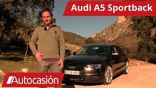 Vídeo prueba: Audi A5 Sportback TFSI 2014