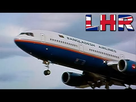 DC10 & MD11 at London HEATHROW (1999)