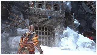 "God of War | Thamur's Corpse Gate Puzzle ""n"" Seal Location."