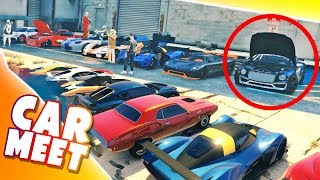GTA ONLINE - WIELKI MEETING I WYŚCIGI DRAG!