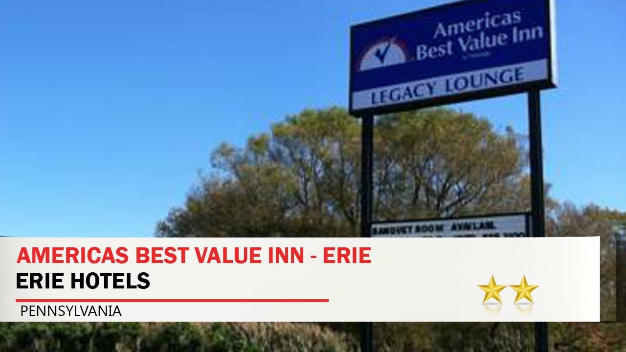 Americas Best Value Inn Erie Erie Hotels Pennsylvania Youtube
