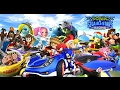"Sonic SEGA All Stars Racing ""PART Monkey Cup"" Nintendo Wii Racing Games Videos Games for Kids"