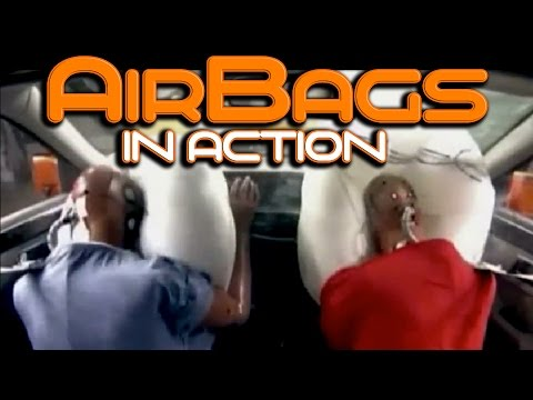 airbag deployment compilation the speed and power of airbags youtube. Black Bedroom Furniture Sets. Home Design Ideas