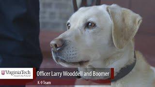 Longtime officer, beloved dog retires from Virginia Tech Police Department