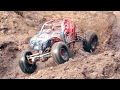Mud Bogging! Rock Bouncing ! Axial VS Vaterra, SCX10II, SCX10,  Ascender, Worlds's Greatest RC Park