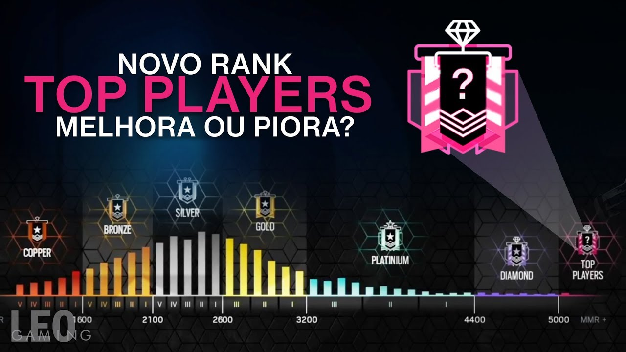 R6 - Novo Rank acima do diamante  Vai dar bom?