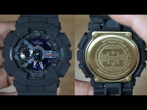4aa08ae6bcf CASIO G-SHOCK BIG BANG BLACK GA-135A-1A 35th Anniversary - UNBOXING