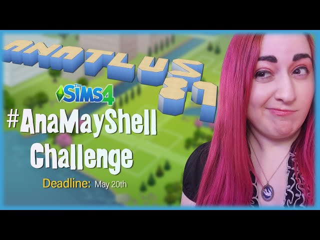 🐚Announcing My First Ever Shell Challenge! // #AnaMayShell Puzzle Challenge With Prizes // Sims 4