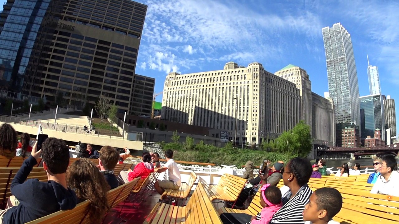 chicago architecture boat tour(may, 14th, 2017) - youtube
