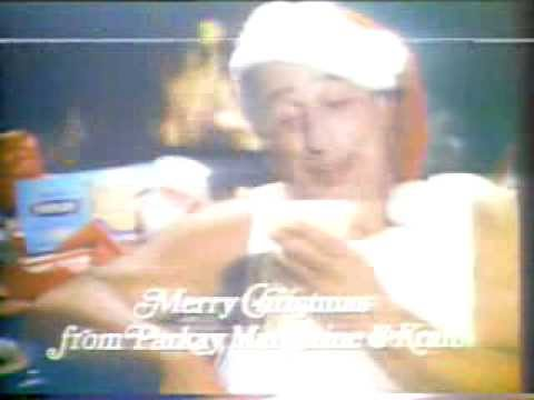 Vic Tayback 1978 Parkay Margarine Christmas Commercial