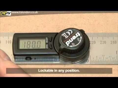 Trend DAR//200 200mm Digital Angle Rule