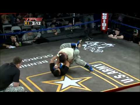 Military Combatives  MMA - 2010 Close Combat:  Flyweights  - The Pentagon Channel