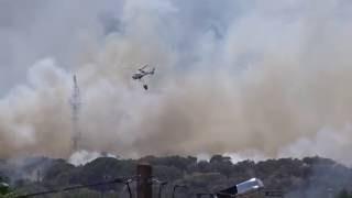 Incêndio em Évora 18/07/2016