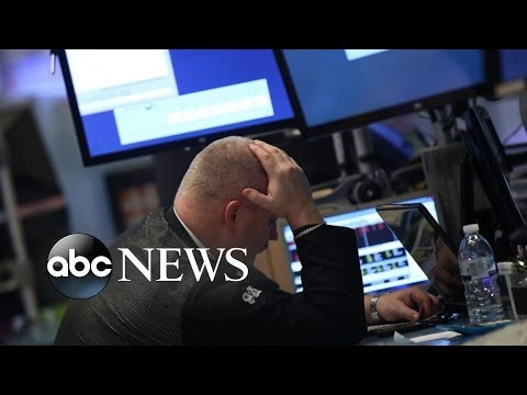 Stock Market Plunges 400 Points