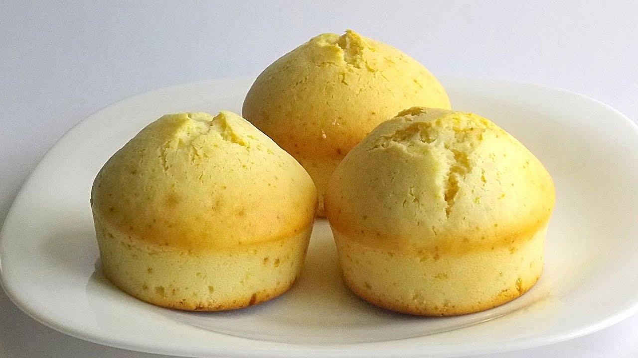 Кексы на подсолнечном масле и молоке - рецепт пошаговый с фото