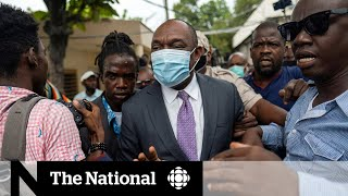 Confusion surrounds investigation into asassination of Haiti's president, state of government