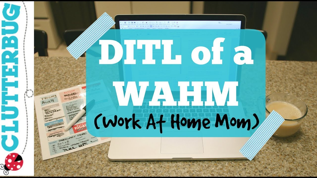 Day In Life Of A WAHM Vlog