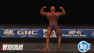 Michael Wright Posing Routine 2012 Jr. USAs