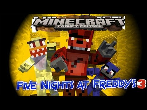 Freddy Fazbear Horrer Attraction Mcpe Map Showcase