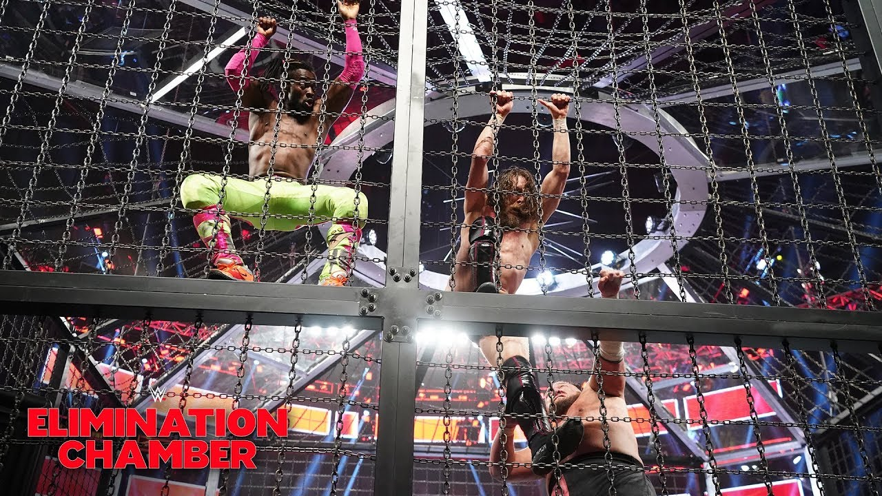 Kofi Kingston ignores Daniel Bryan's pleas for mercy: WWE Elimination Chamber 2019 (WWE NetworK)