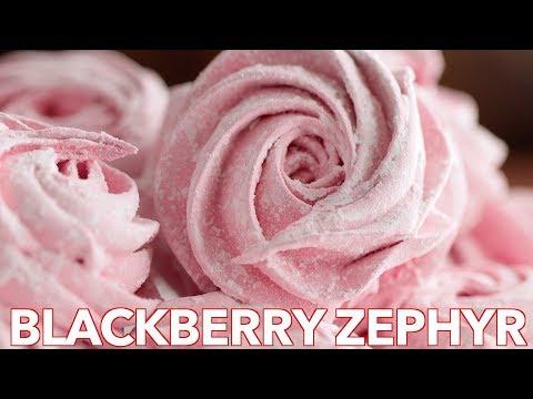 Dessert: Homemade Blackberry Marshmallow -  Zephyr