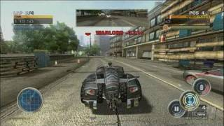Full Auto Xbox 360 Gameplay - Guns and Fire