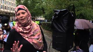 JFAC SENTENCED Protest - Lauren Booth
