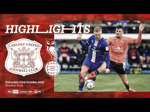 Carlisle Oldham Goals And Highlights