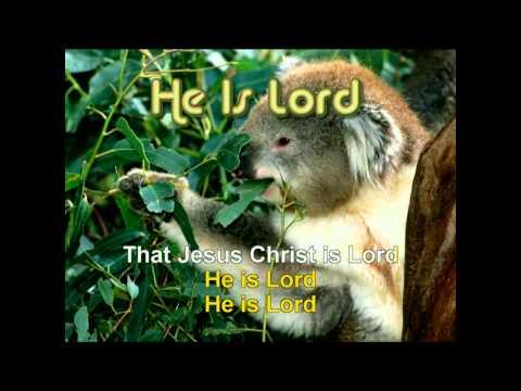 GOSPEL HYMNAL - HE IS LORD G.avi