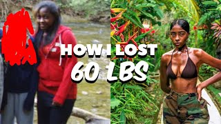 HOW I LOST 60lbs | SIMPLE WEIGHT LOSS TIPS | INTERMITTENT FASTING !!!