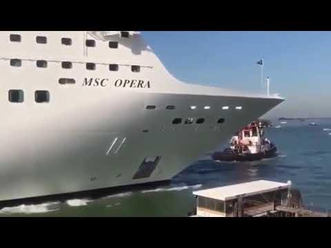 Venecia alejará a los cruceros del centro histórico ¿será esta vez la definitiva?