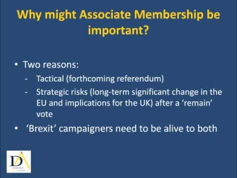 Associate EU-Membership: Cameron's Mixed Up Rabbit