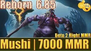 Dota 2 reborn 6 85 Mushi 7000 MMR Alchemist Mid 1245 GPM  Ranked Match Gameplay!