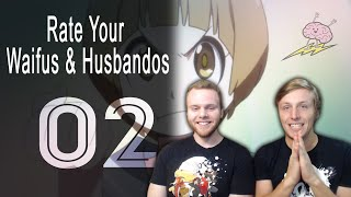 SOS Bros Rate Your Waifus #2 - The Next Chapter of Madness!!