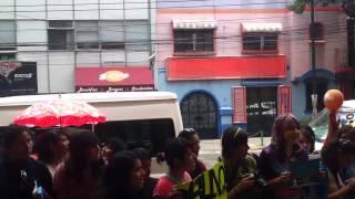 MBLAQ  leaving the hotel (Saliendo de su Hotel) in Mexico Thumbnail