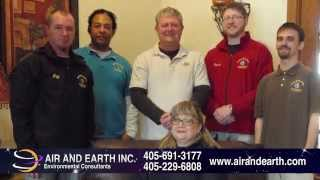 Air & Earth | Asbestos/Mold Consulting & Testing & Air Quality Testing Services in Oklahoma City, OK