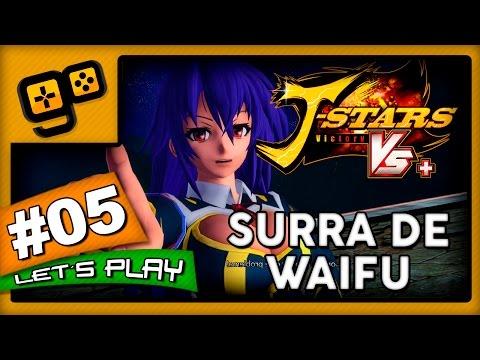 Let's Play: J-Stars Victory VS+ (LUFFY) - Parte 5 - Surra de Waifu