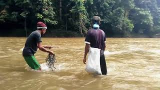 traditional fishing : Aceh traditional fishing by village people | village life (Part - #2)