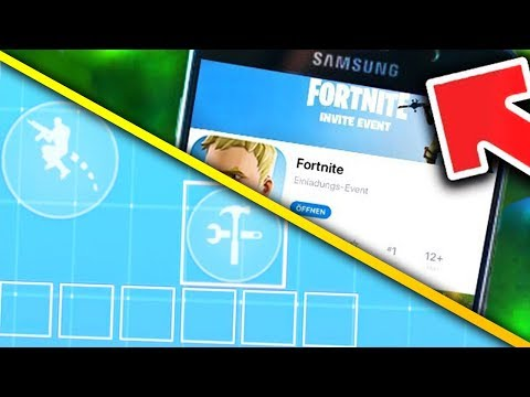 FORTNITE HANDY UPDATE: ANDROID? + EIGENES HUD + VOICE CHAT