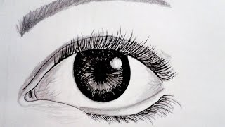How to Draw A Realistic Eye - NI
