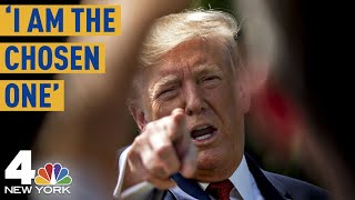 """President Trump: 'I Am the Chosen One"""" for Trade War With China 