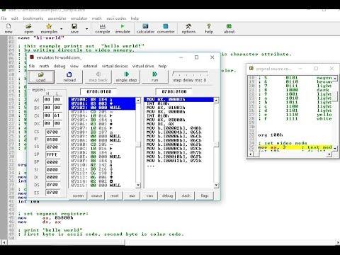 How ot Install Emulator 8086
