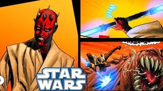 DARTH MAUL BECOMES A JEDI AND THEN THIS HAPPENS!(CANON) - Star Wars Comics Explained