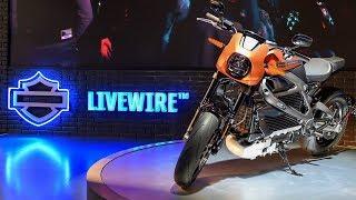2019 Harley-Davidson Livewire electric bike | Walk around and interview