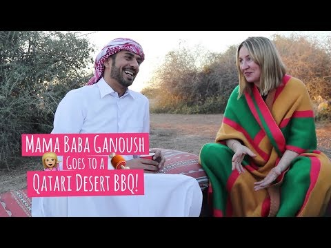 This is the most delicious Qatari dish you'll ever try -- Qatari desert-style BBQ!