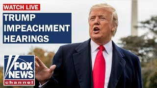Fox News Live First public hearing in Trump impeachment probe