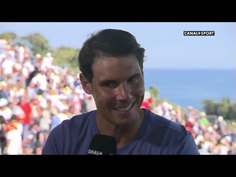 Rafael Nadal Interview for Canal + (France) after QF in Monte-Carlo