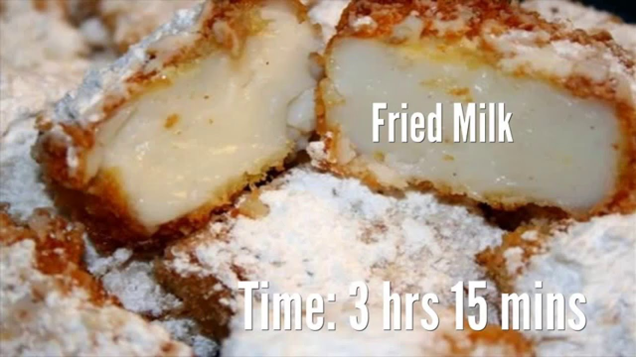 Fried milk: a recipe for making an unusual dessert and not only 49