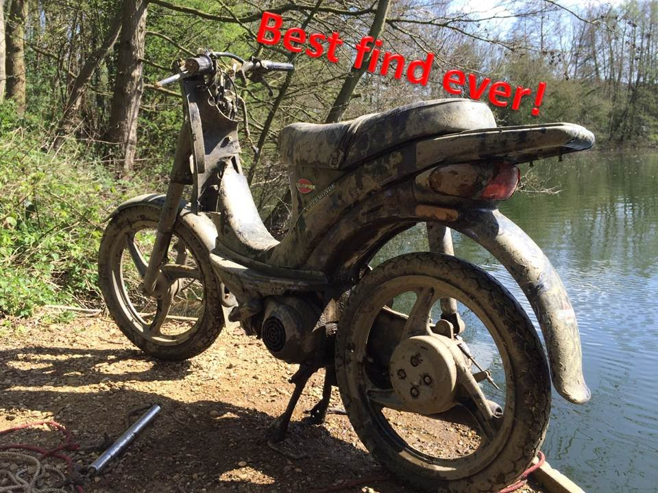 Best magnet fishing day ever found a motorcycle for Best magnets for magnet fishing