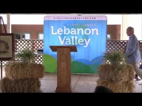 Lebanon Expo Center, Lebanon Area Fair, and Lebanon Valley Destination Marketing Press conference